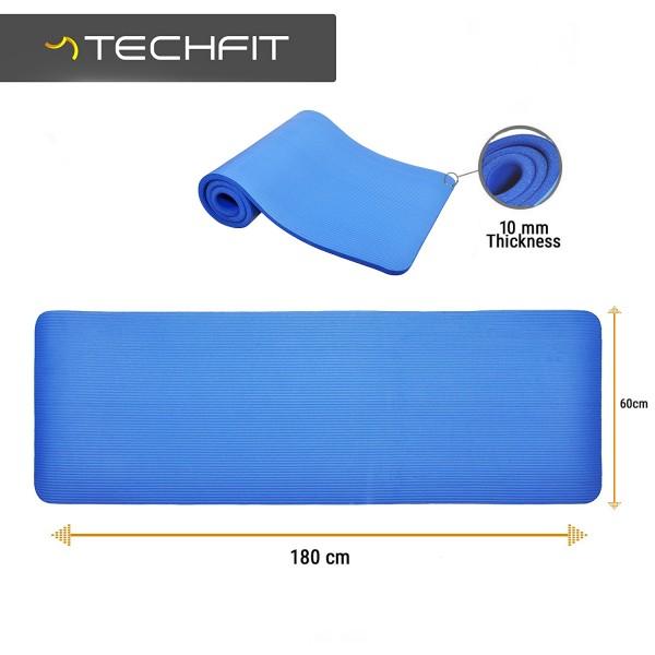 Saltea yoga albastra TECHFIT EXERCISE MAT