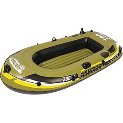 Barca gonflabila 350 Jilong Fishman, Pompa inclusa, Vasle incluse
