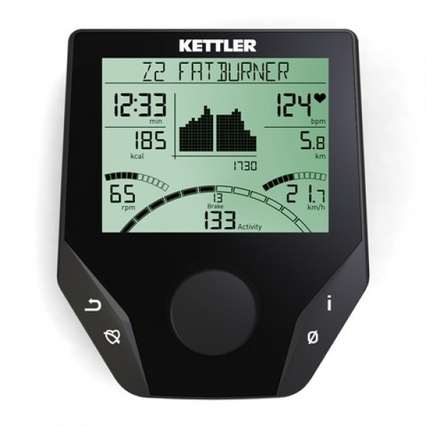 Bicicleta fitness orizontala KETTLER RIDE 300 R (GIRO R3)
