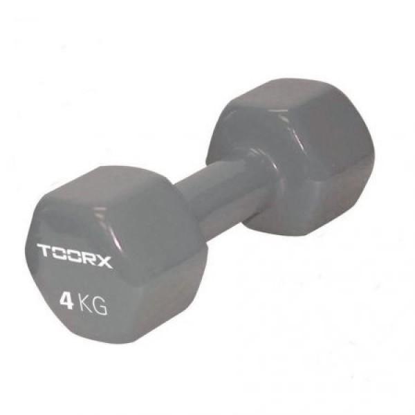 Gantera PVC TOORX 4 kg Gri