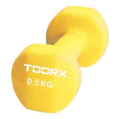 Gantera Neopren TOORX 0.5 kg Galben