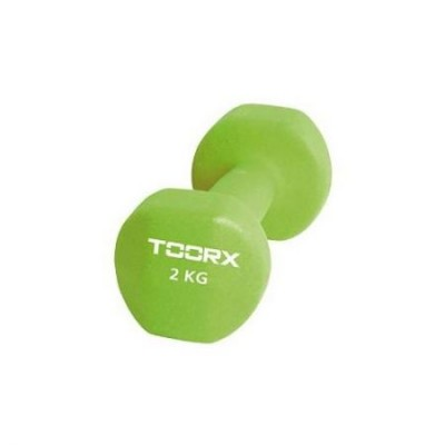 Gantera Neopren TOORX 2 kg Verde