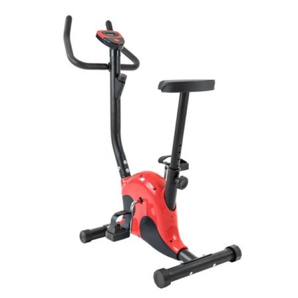 Bicicleta fitness pentru exercitii, mecanica cu sa reglabila - Resigilata