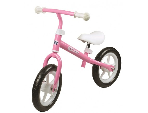 "Bicicleta LA Sports running bike 12"" Happy Rider roz"