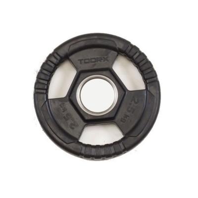 Disc olimpic TOORX 2.5 Kg diametru 50 mm